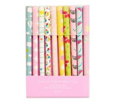Celebrate 10 years of Cute Diary design with these beautiful pens, which feature our favourite designs from the past decade.