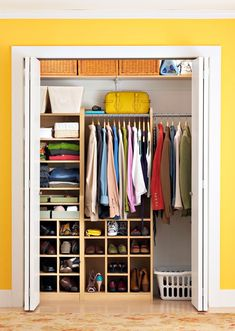 10 Ways To Squeeze Extra Storage Out Of A Small Closet