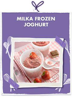 Milka Frozen Joghurt