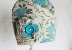 etsy hat women handmade hat teen womens hat blue by miraclemittens, $20.00
