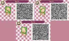 animal crossing new leaf garden stone qr codes - Google Search