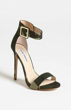 #Can't hide in these camo heels.