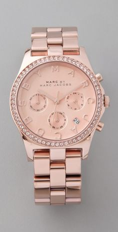 mmmm rose gold watches !!!