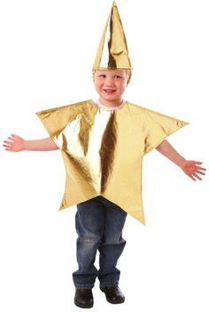 Disfraz estrella niño