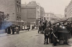 North End Road archive Victorian London, Vintage London, Old London, Uk History, London History, Kingston Upon Thames, Fulham, London Photos, Slums