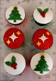 Simple Christmas Cupcakes Visit www.sealedbysanta.com for your letter from santa!