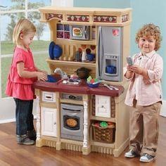 Small Kitchen Playset Kids Cooking Pretend Play Set Accessories Children Toys