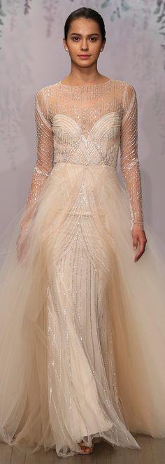 Monique Lhuillier Fall 2016 Wedding Dress