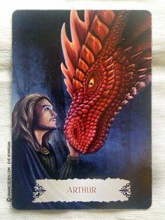 Les cartes Oracle La Sagesse des Dragons de Christine Arana Fader - Découvrez ce jeu dans la Bibliothèque des cartes Oracles divinatoires...
