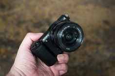 Getting hands on with a Sony a5100