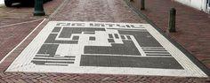 Homage to De Stijl, at van Doesburg former house in Holland Theo Van Doesburg, Holland, House, De Stijl, The Nederlands, Home, The Netherlands, Netherlands, Homes
