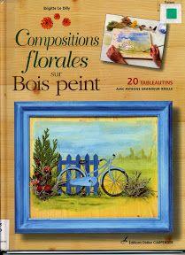 COMPOSITIONS FLORALES SUR BOIS - paty net - Picasa Web Albums