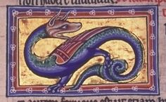 "Aberdeen Bestiary - f68v Text: ""Scitalis has a glittering skin."""