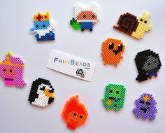 Adventure Time  hama beads by Friki Beads