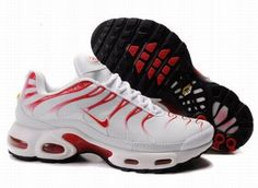 be591d11b5a1 Nike Air Max TN Leather Mens White Sport Red Black Кроссовки Air Max 90,  Jordan