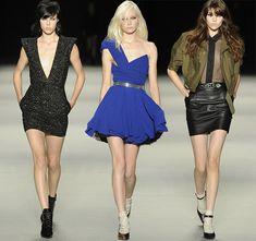 Yves Saint Laurent Spring/Summer 2014 RTW - Paris Fashion Week  #PFW #fashionweek #ParisFashionWeek