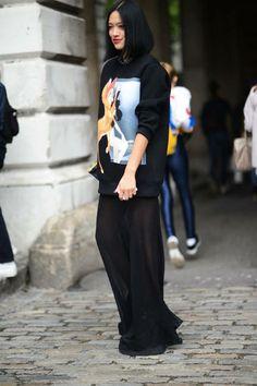 Street style: Tiffany Hsu