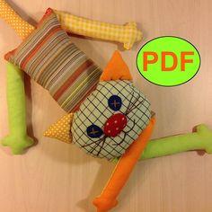 #catsewingpattern #PDF #DIYcat #toypattern #cattutorial #patchworkcat #natashaartdolls