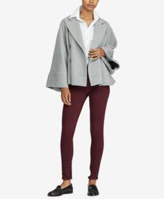 Lauren Ralph Lauren Oversized Jacket - Grey XXS/XS
