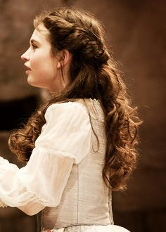 Lily James as Desdemona in Othello (2011)