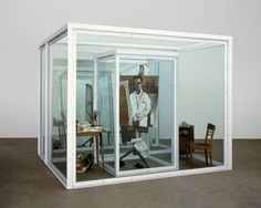 Damien Hirst - Concentrating on a Self-Portrait as a Pharmacist, 2000