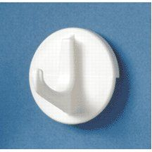 Homz Laundry/Seymour Wht Lg Hook 21110201.72 Hooks Closet by Homz. $4.66. HOMZ LAUNDRY/SEYMOUR. Homz Laundry/Seymour #21110201.72 White Large Hook. From the Manufacturer                Patented Wet'n Set glueplate.  Just moisten and press.  It's up to stay!                                    Product Description                White, Large Hook, Self-Adhesive Hook Features Patented Glue Plate, Excelleny For Hanging Bathroom Items.