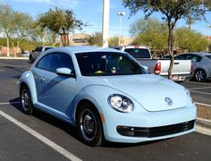 2013 VW beetle in denim blue. Love it !