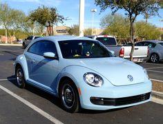2013 VW beetle in denim blue. Love it !