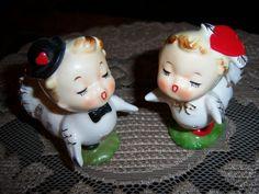 Vintage Napco Cute Anthropomorphic Shakers   eBay