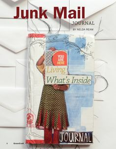 Junk Mail Journal: Free Article Download - great ideas for what to do with your junk mail!