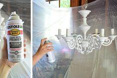 Clean metal primer by rust-oleum for spray painting metal.