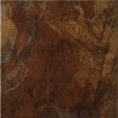 MARAZZI Imperial Slate 12 in. x 12 in. Rust Ceramic Floor and Wall Tile