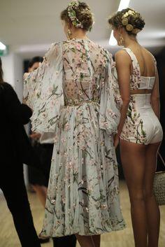 Sofiaz Choice: Dolce & Gabbana spring 2014 rtw backstage