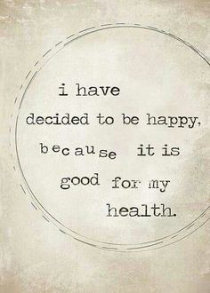 ...for the health! ♥