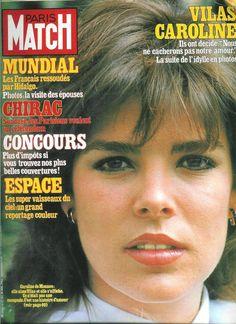 Paris Match n°1729/ 1982/ Caroline de Monaco & Guillermo Vilas, Thierry Le Luron