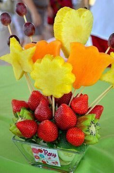 Centro de mesa frutas