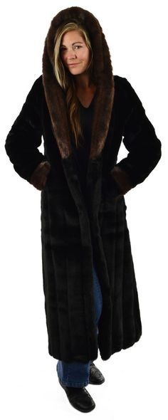 Long Red Fox | Silk and Sable Faux Fur Coats | Pinterest | Fur coat