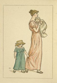 July - Kate Greenaway's Almanack for 1893