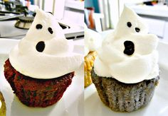 Ghost Cupcakes 1