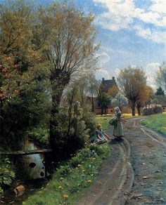 By The River, Brondbyvester (Peder Mork Monsted - )