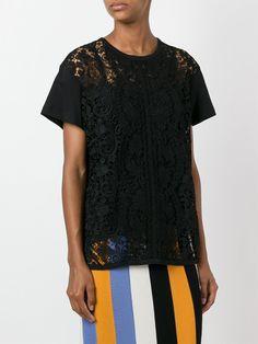 No. 21 Black Lace Blouse | Available at Julianne Boutique