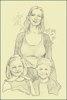 Aldona with children.2015.