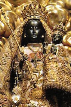 Black Madonna - Marion Woodman's books and C. G. Jung's books explore wonderful ways of looking at this Mythological Figure...