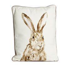 Wilko Hare Cushion 43x33cm