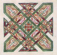 Celtic Cross-Stitch .. A traditional patchwork quilt design
