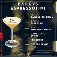 Baileys + chocolate + coffee + vodka = YUM!! :o)