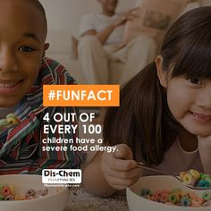 Kids Food Allergies, Pharmacy, Children, Kids, Fun Facts, Young Children, Young Children, Boys, Boys