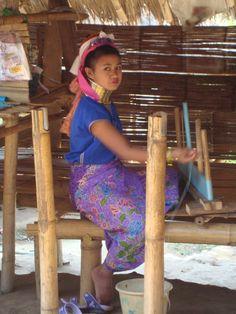 Thai journey, Kharen girl
