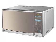 Micro-ondas LG Mirror Grill MH7049C - 30L Possui Menu Brazilian Cook