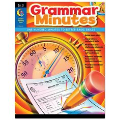 Creative Teaching Press Fourth-Grade Math Minutes Nouns And Pronouns, Possessive Nouns, Prefixes And Suffixes, Math Minutes, Grammar Questions, Linking Verbs, Grammar Skills, Grammar Practice, Math Skills